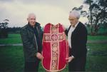 Jim Mandeno and Father David Jillit